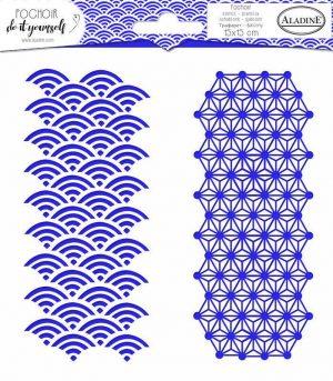 Stencil geometrisch