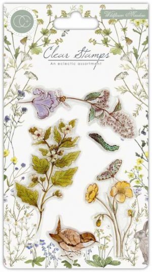 Clearstamps Wildflower Meadow plants
