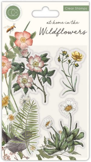 Clearstamps Wildflowers flowers