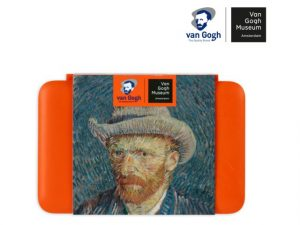 Watercolour pocketbox Van Gogh inspired