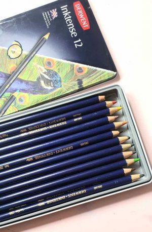 Aquarel potloden - Derwent Inktense (tweedekansje)